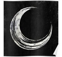 Crescent Moon - Silver Edition Poster