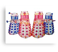 Exterminate ! Canvas Print