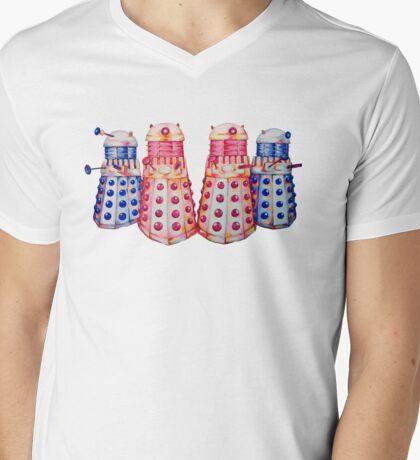 Exterminate ! Mens V-Neck T-Shirt