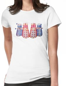 Exterminate ! Womens Fitted T-Shirt