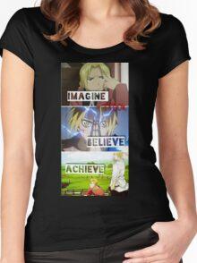 manga -full metal alchemist- Women's Fitted Scoop T-Shirt