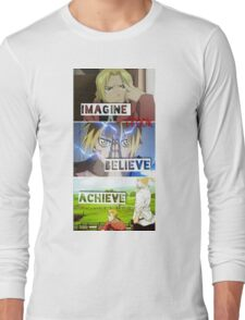 manga -full metal alchemist- Long Sleeve T-Shirt