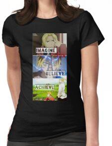 manga -full metal alchemist- Womens Fitted T-Shirt