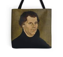 Martin Luther Painting Tote Bag