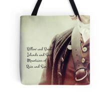 Outlander/Jamie Fraser/Opening song Tote Bag