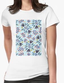 Blueberry 2 Womens Fitted T-Shirt
