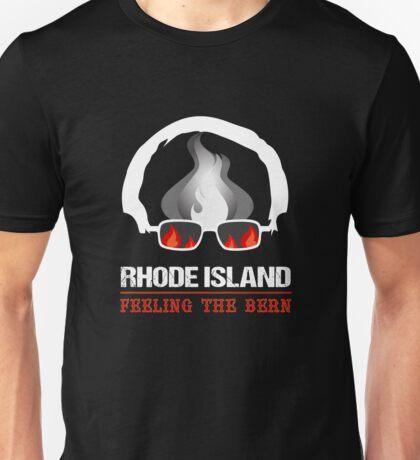 Rhode Island Feeling The Bern Unisex T-Shirt