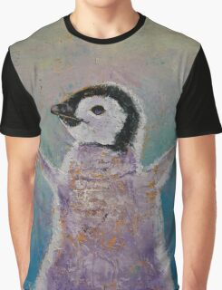 Baby Penguin Graphic T-Shirt