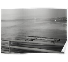 Water and Ledge Photograph Poster