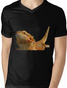 Bearded dragon Mens V-Neck T-Shirt