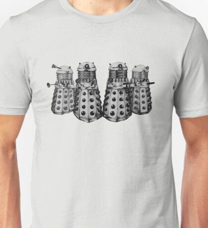 Exterminate ! -Gray Unisex T-Shirt