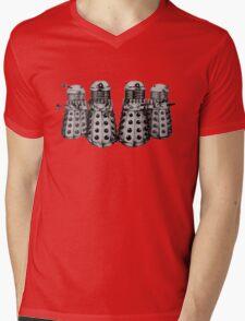 Exterminate ! -Gray Mens V-Neck T-Shirt