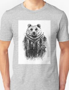 Bear_in_the_woods T-Shirt