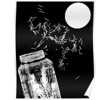 Abstract photogram Poster