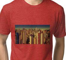 Goiania cityscape Tri-blend T-Shirt