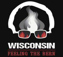 Wisconsin Feeling The Bern One Piece - Long Sleeve