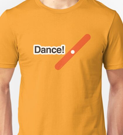 Dance! - Literally Translated Metro Map Unisex T-Shirt