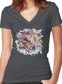 Disgaea Women's Fitted V-Neck T-Shirt