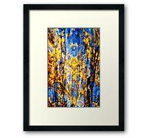 Blue Symphony of Spring Framed Print