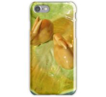 Louise & Abel ~ In The Lettuce Patch iPhone Case/Skin