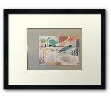 Three Birds on a Wire Framed Print