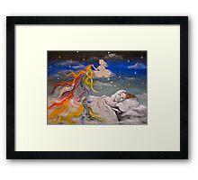Artist's Insomnia Framed Print