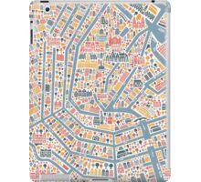 Amsterdam City Map iPad Case/Skin
