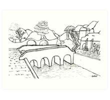 Balmora Art Print
