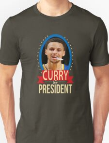 Steph Curry for president Unisex T-Shirt