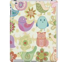 CUTE FLORAL ANIMALS iPad Case/Skin