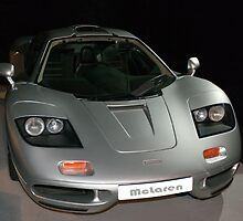 XP3 prototype McLaren F1 road car by John Gaffen