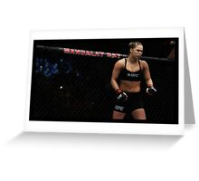 Ronda Rousey Greeting Card