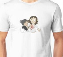 lemme just- just tape this here and here and here Unisex T-Shirt
