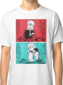 Sovereigns Hate Sweets - Red and Blue Classic T-Shirt