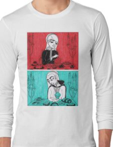 Sovereigns Hate Sweets - Red and Blue Long Sleeve T-Shirt