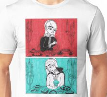 Sovereigns Hate Sweets - Red and Blue Unisex T-Shirt