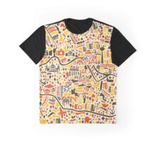 Berlin City Map Graphic T-Shirt
