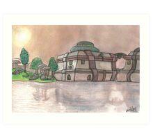 Vivec City Art Print