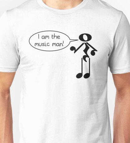 The Music Man - Light Tees Unisex T-Shirt