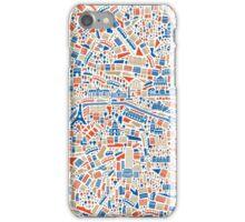 Paris City Map iPhone Case/Skin