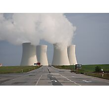 Nuclear powerplant Photographic Print