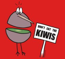 Don't Eat The Kiwis One Piece - Long Sleeve