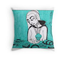 Sovereigns Hate Sweets - Blue Throw Pillow
