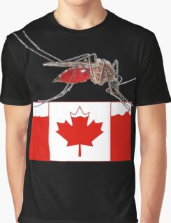 A Canadian Summer Graphic T-Shirt