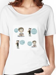 Ohana means family 1-4 Women's Relaxed Fit T-Shirt