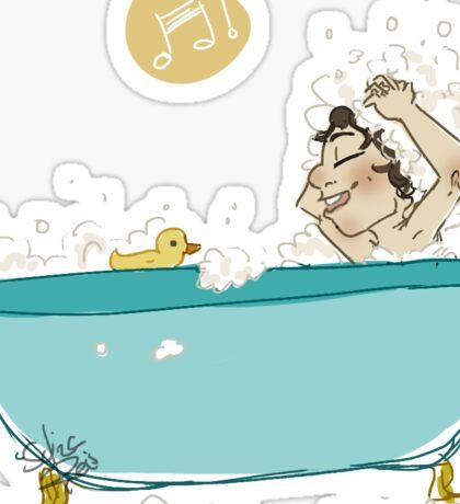 shampoo is bettah Sticker