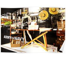 Summer at the Army and Navy  Poster