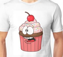 The Concerned Cupcake Unisex T-Shirt