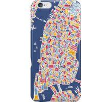 New York City Map iPhone Case/Skin