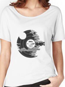 Star Wars - Death Star Vinyl Women's Relaxed Fit T-Shirt